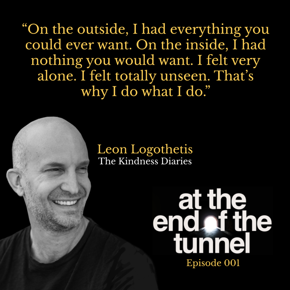 Ep 1: The Kindness Diaries with Leon Logothetis — LIGHT
